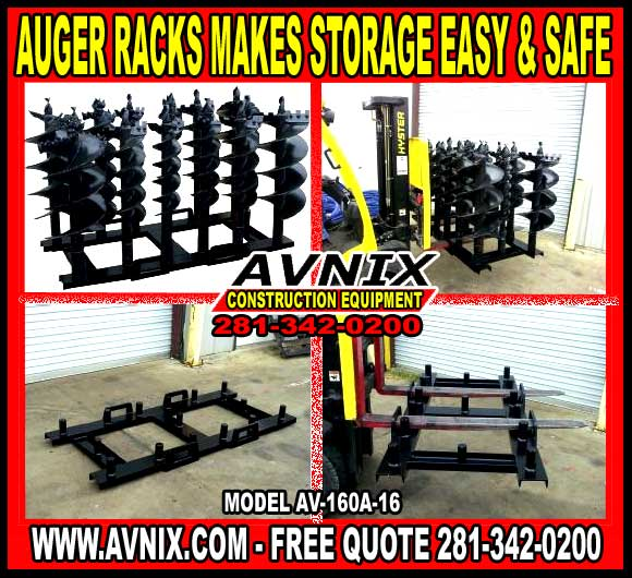 Discount Auger Racks For Sale Cheap In Houston, Texas