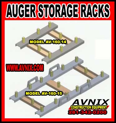 Auger Storage Racks For Sale