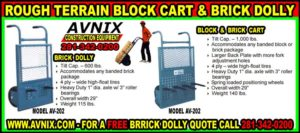 Discount Brick Cart For Sale Cheap