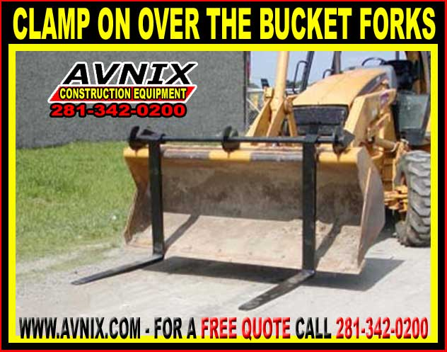 bucket clamp skid steer attachments archives avnix heavy duty construction