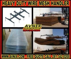 Discount Forklift Or Crane Wire Mesh Handler For Sale Cheap