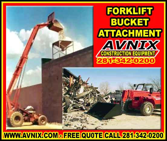 Forklift Bucket Attachment For Sale