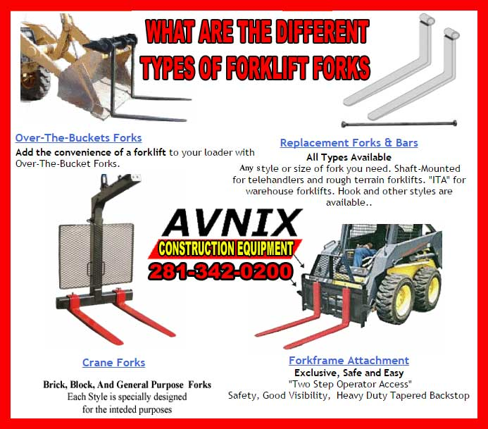 Forklift Fork Attachments For Sale Cheap