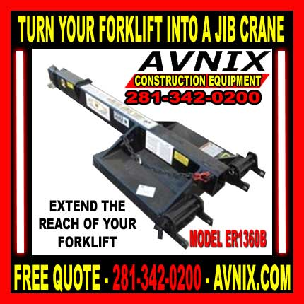 Discount Forklift Jib Crane Attachments For Sale Cheap
