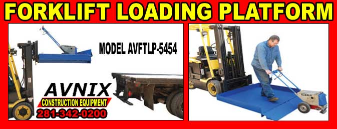Forklift Loading Platforms On Sale Cheap Discount Prices