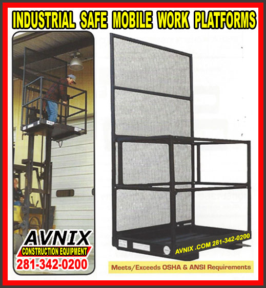 Cheap Industrial Mobile Work Platform Lift For Sale