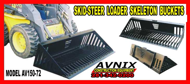 Skid Steer Skeleton Bucket Attachmen for sale cheap at discount prices