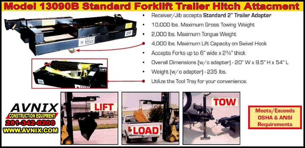 Affordable Trailer Hitch Attachment For Forklift At Wholesale Prices