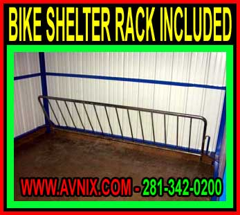 Outdoor Metal Bike Shed Amp Cycle Shelter Kits For Sale