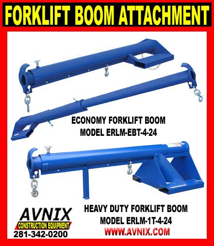 Fork Lift Boom Attachments For Sale Cheap Discount Direct Sales