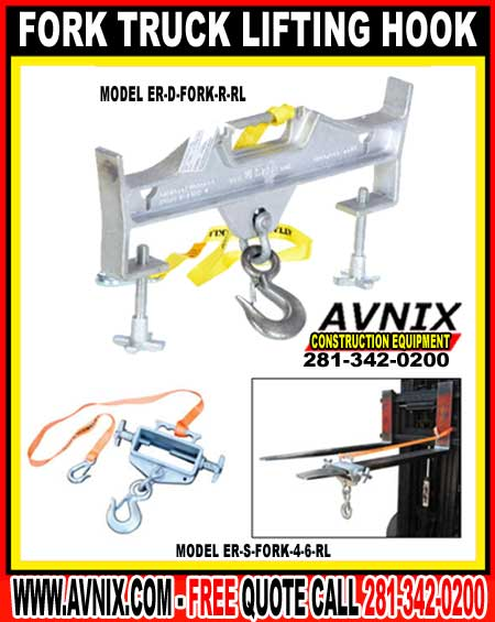 Fork Truck Lifting Hook For Sale Discount Wholesale Prices