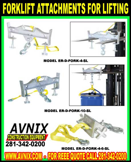 Forklift Attachments For Lifting For :Sale At Discount Wholesale Prices