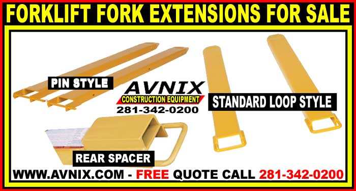 Forklift Fork Extensions For Sale Cheap Wholesale Prices