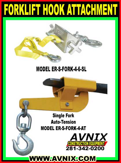 Forklift Hook Attachment For Sale