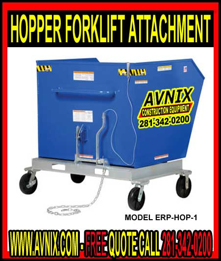 Hopper Forklift Attachment For Sale Cheap At Discount Prices