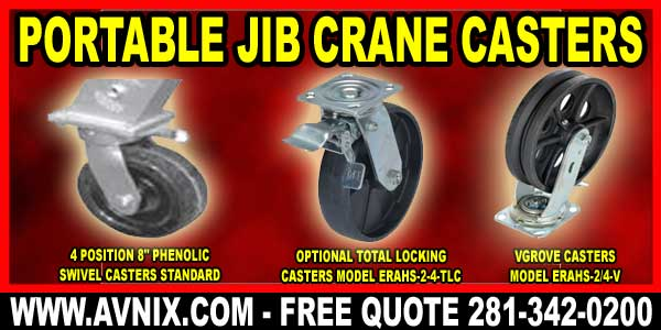 Overhead Jib Crane Casters For Sale Cheaap