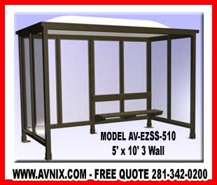 Prefab Bus Stop Shelter For Sale Cheap