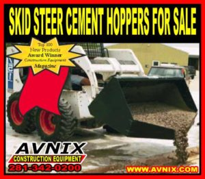 Discount Skid Steer Cement Hopper For Sale Cheap At Wholesale Prices