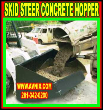 Cheap Skid Steer Concrete Bucket On Sale Now