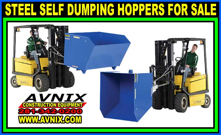 Steel Self Dumping Hoppers For Sale