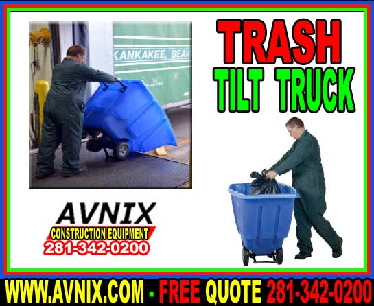 Trash Tilt Truck For Sale At Discount Prices