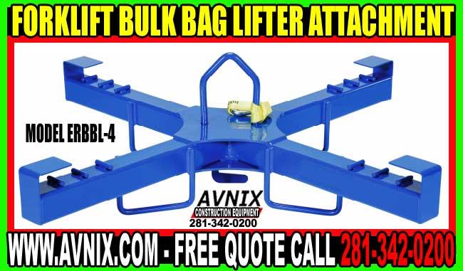 Crane Or Forklift Bulk Bag Lifting Amp Discharger Device For