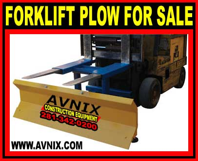 Forklift Plow For Sale - Buy Direct And Save Money Today!