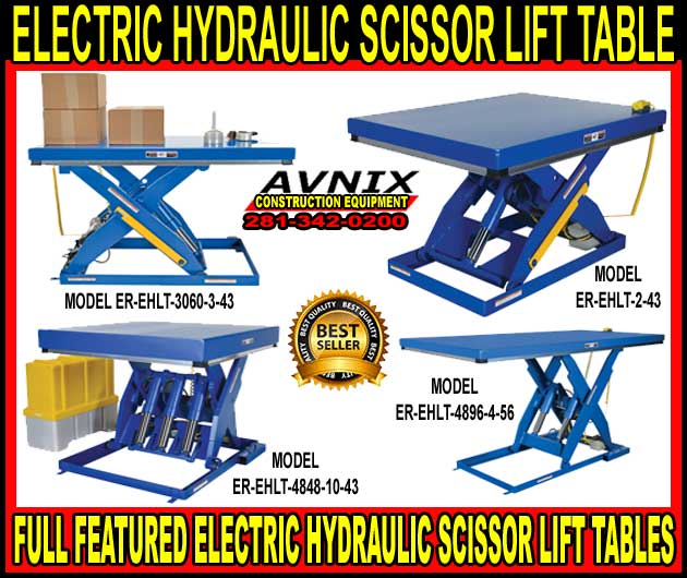 Powered Scissor Lift Table For Sale At Wholesale Discount Prices