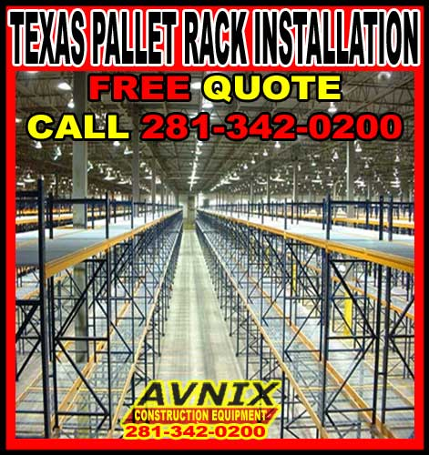Texas Pallet Rack For Sale & Installation-Installers In Houston, Dallas, Austin & San Antonio