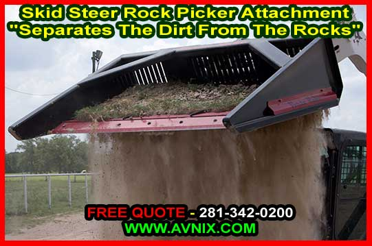 Discount Skid Steer Rock Picker Attachment For Sale Wholesale Manufacturer Direct Prices Just Like Versa Rake