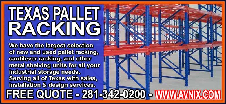 New Used Pallet Rack Sales Installation Design Services