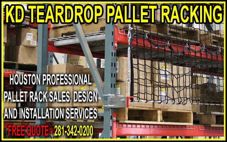 Discount Teardrop Pallet Rack Installation, Sales & Design Houston Texas