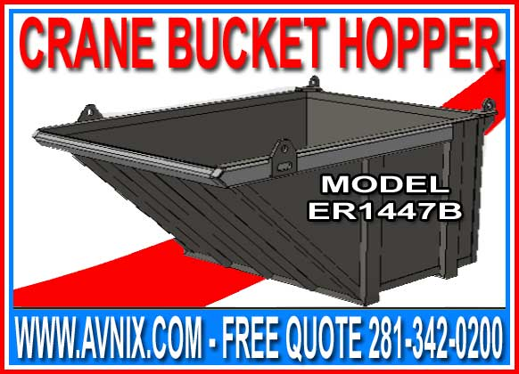 Discount Crane Bucket Hoppers For Sale Direct From The Manufacturer Means Lowest Price Guranteed