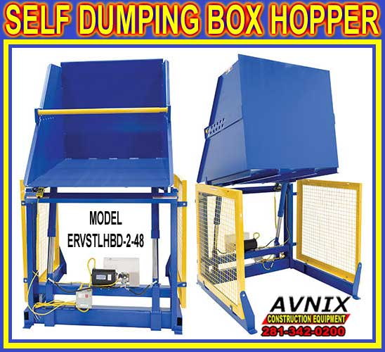 Commercial Heavy Duty Hydraulic Box Dumpers For Sale Direct From The Manufacturer Means Lowest Price Guaranteed