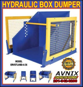 Heavy Duty Hydraulic Self Dumping Box Dumper For Sale Manufacturer Direct Means Lowest Price Guaranteed