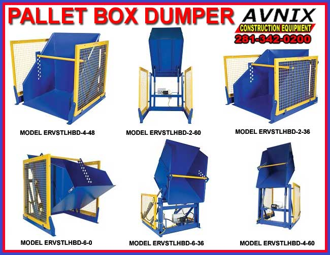 Commercial Heavy Duty Pallet Box Dumper For Sale Direct From The Factory Saves You Money Today!