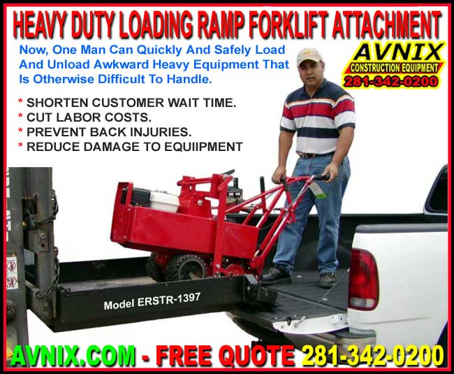 Wholesale Heavy Duty Steel Loading Ramp Fork Truck Attachment For Sale Factory Direct Saves You Time And Money Guaranteed