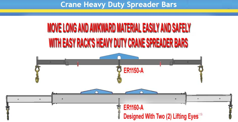 Discount Expandable Adjustable Heavy Duty Crane Spreader Bar Beams For Sale Factory Direct Prices and Made In America